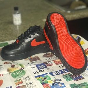 nike red bottoms